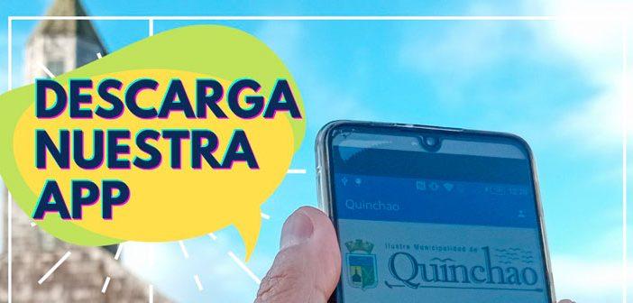 ILUSTRE MUNCIPALIDAD DE QUINCHAO LANZA APP